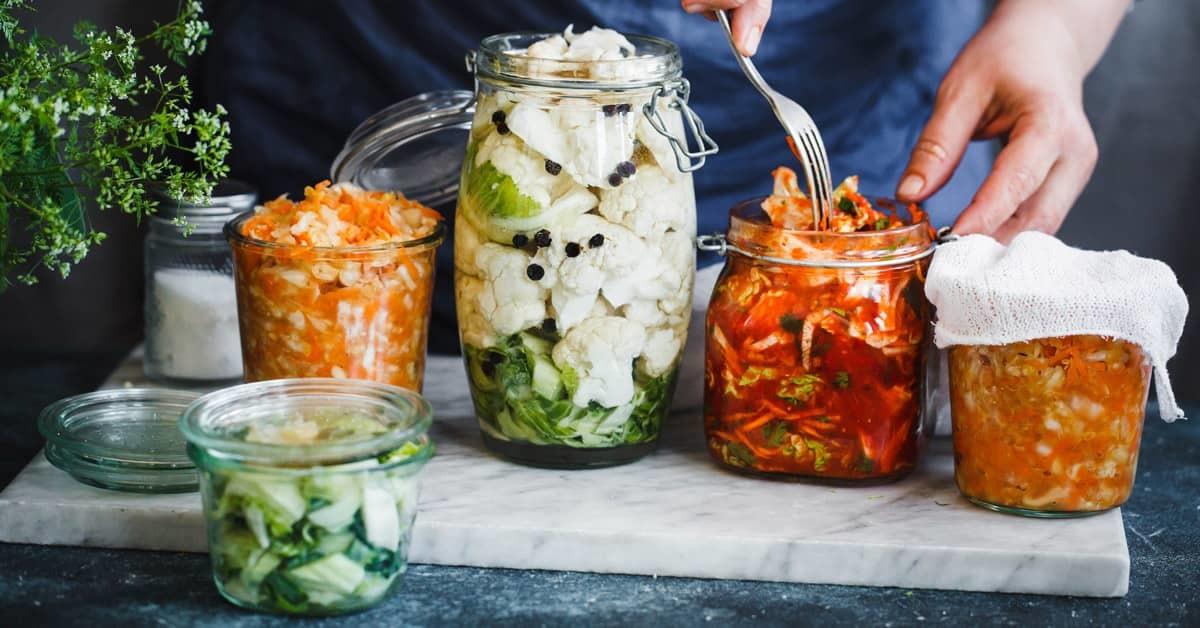 Alimenti fermentati: perché fanno bene